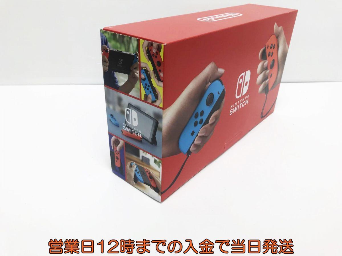 新品 Nintendo Switch (ニンテンドースイッチ) Joy-Con(L) ネオンブルー/(R) ネオンレッド 未使用品 ゲーム機本体 1A1000-583e/F4_画像2