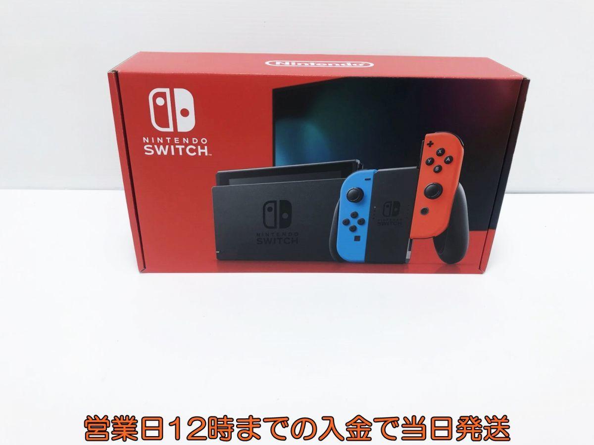 新品 Nintendo Switch (ニンテンドースイッチ) Joy-Con(L) ネオンブルー/(R) ネオンレッド 未使用品 ゲーム機本体 1A1000-583e/F4_画像1