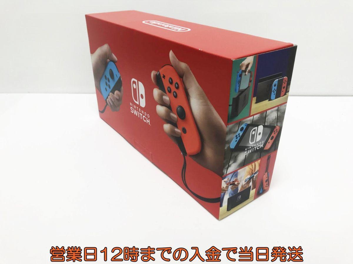 新品 Nintendo Switch (ニンテンドースイッチ) Joy-Con(L) ネオンブルー/(R) ネオンレッド 未使用品 ゲーム機本体 1A1000-583e/F4_画像3