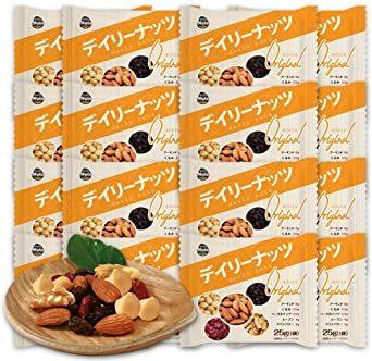 ミックスナッツ デイリーナッツ Original 25gx20袋 小分けナッツ 個包装 小袋 産地直輸入 無塩 メール便発送 (_画像1