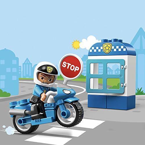 新品★本日限り★レゴ(LEGO) デュプロ ポリスとバイク 10900 知育玩具 ブロック おもちゃ 男の子JJUO_画像3