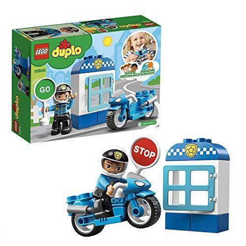 新品★本日限り★レゴ(LEGO) デュプロ ポリスとバイク 10900 知育玩具 ブロック おもちゃ 男の子JJUO_画像1