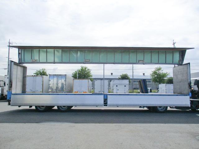 「H18 小平産業 アルミウイングセミトレーラー アクスル エアサス #TK8847」の画像3