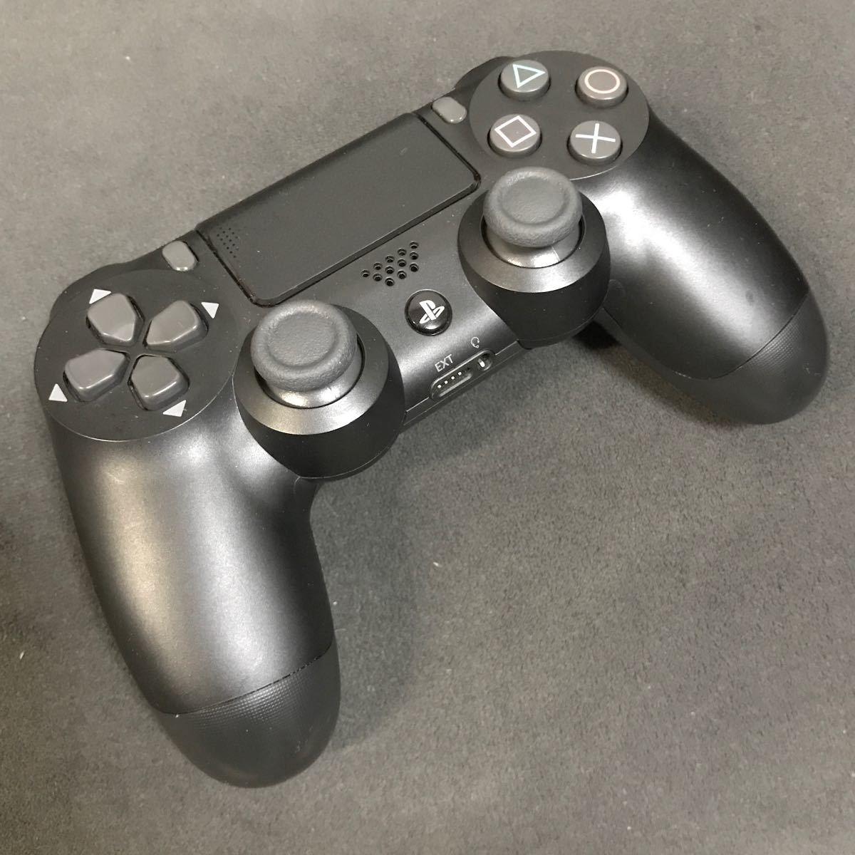 PS4純正コントローラー ジェットブラック  DUALSHOCK4