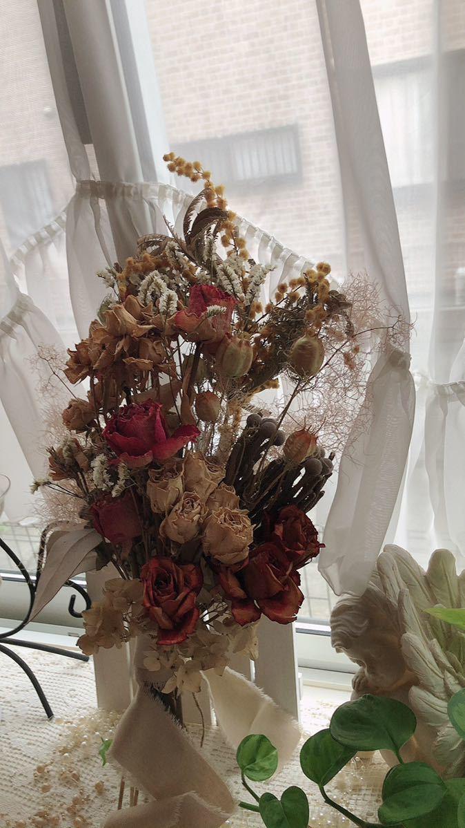 薔薇いっぱいスワッグ_画像1