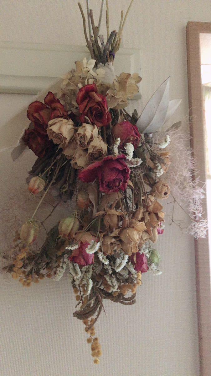 薔薇いっぱいスワッグ_画像2
