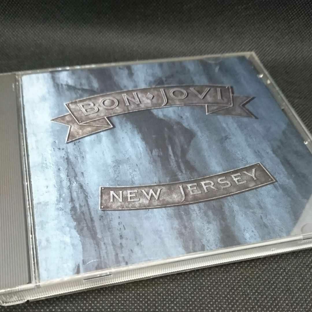 ボン・ジョヴィ ニュー・ジャージー 国内盤CD 帯付き BON JOVI NEW JERSEY