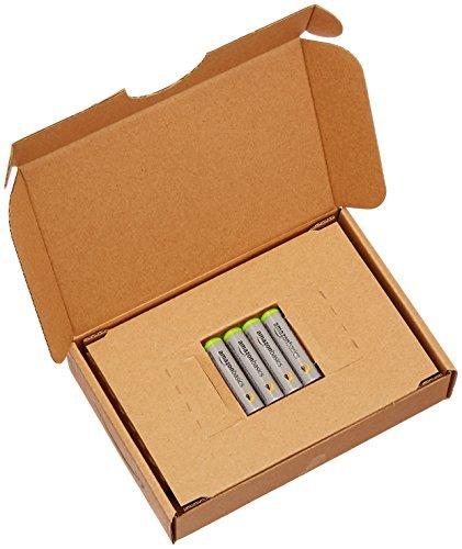 0c684Amazonベーシック 充電池 高容量充電式ニッケル水素電池単4形4個セット (充電済み、_画像4