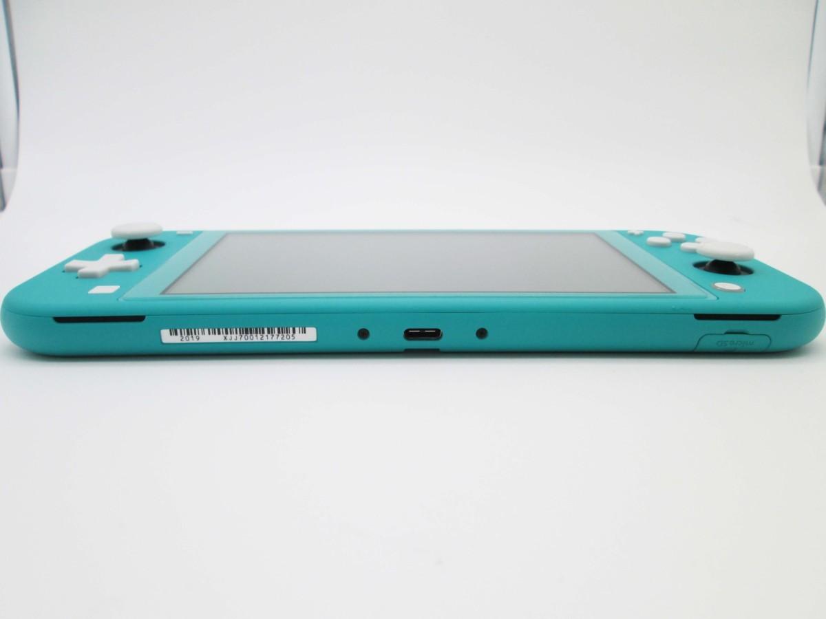 ★任天堂 ニンテンドースイッチ ライト ターコイズ 本体 Nintendo Switch lite★/H_画像7