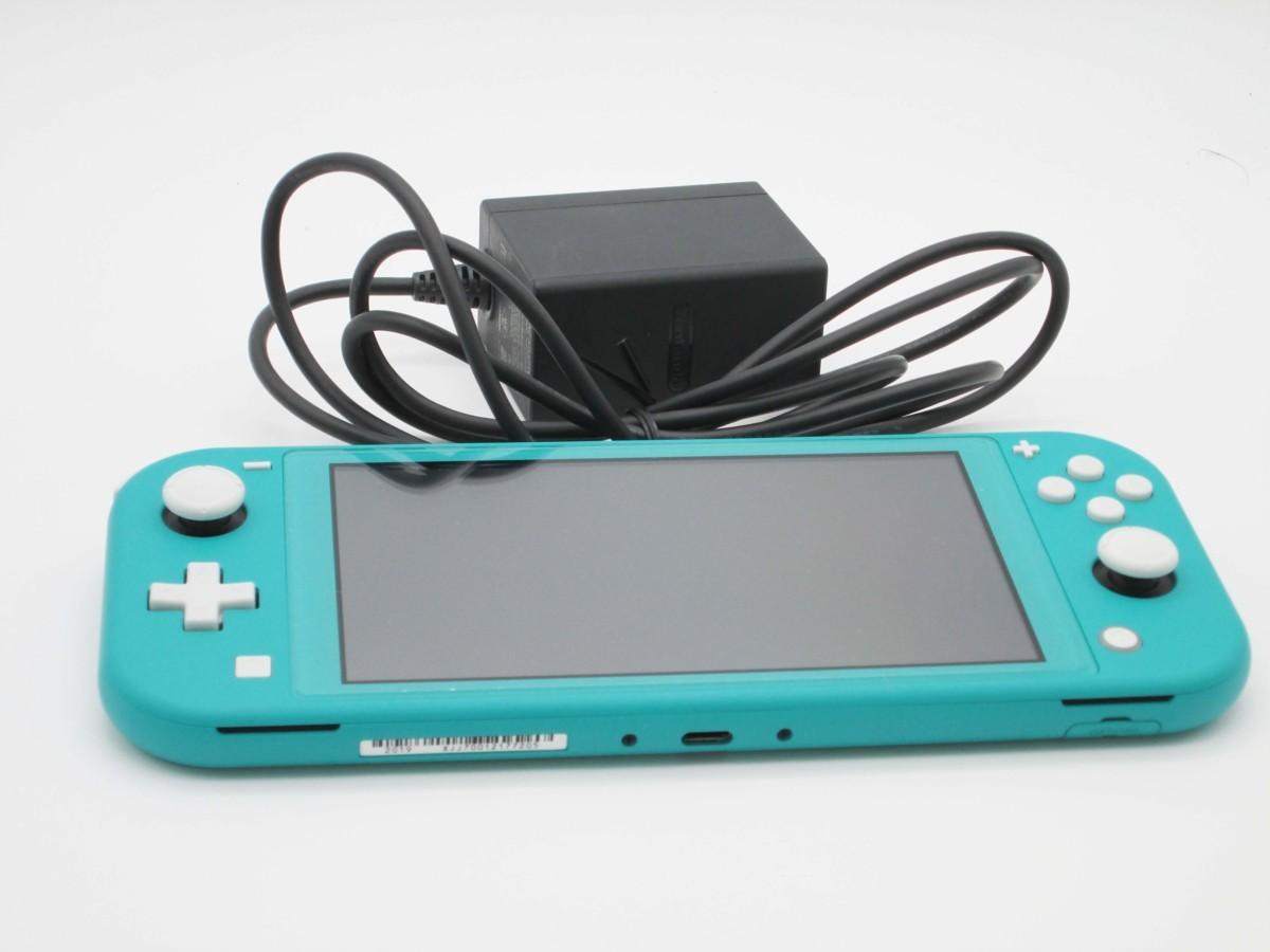 ★任天堂 ニンテンドースイッチ ライト ターコイズ 本体 Nintendo Switch lite★/H_画像3