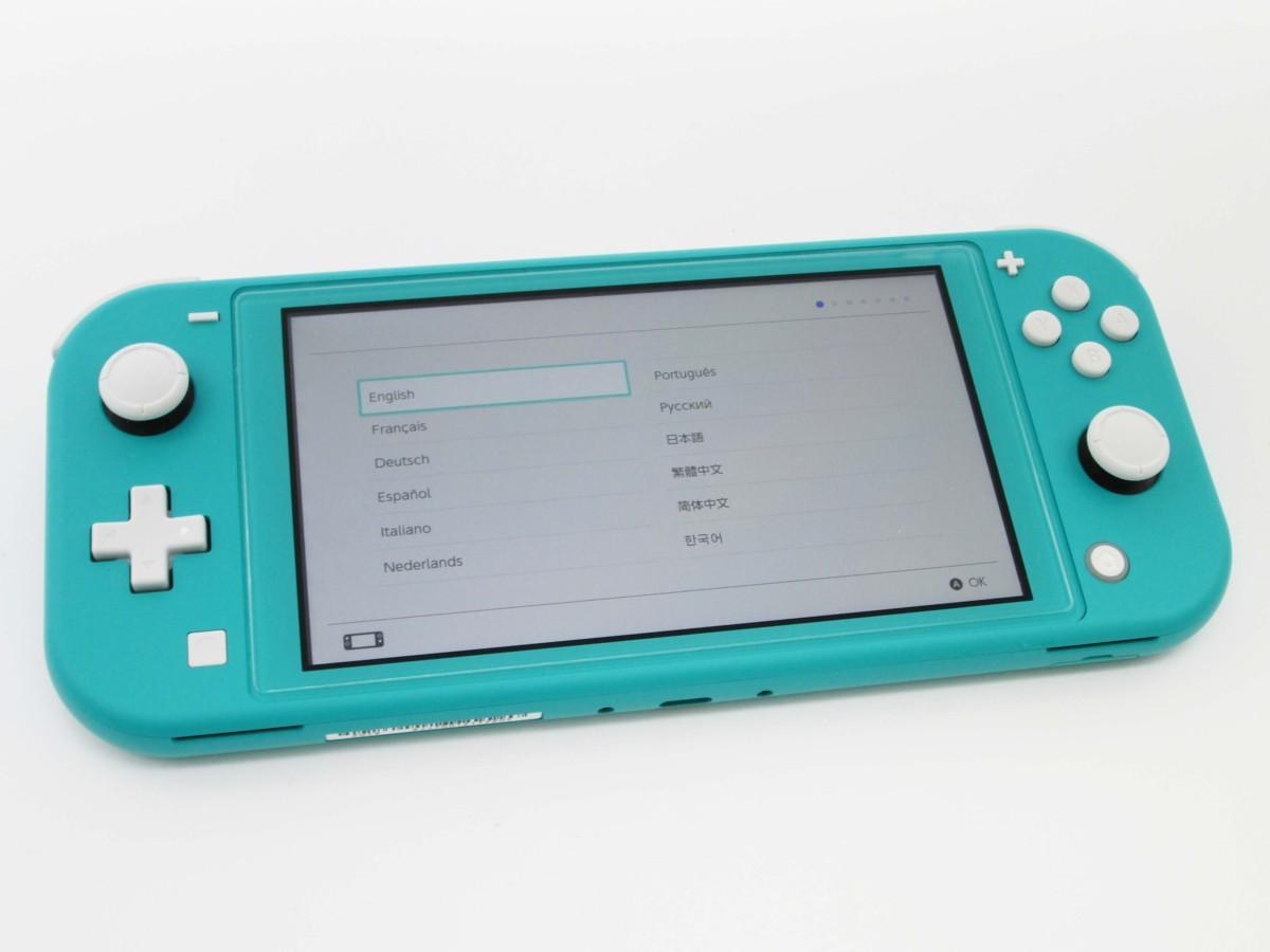 ★任天堂 ニンテンドースイッチ ライト ターコイズ 本体 Nintendo Switch lite★/H_画像4