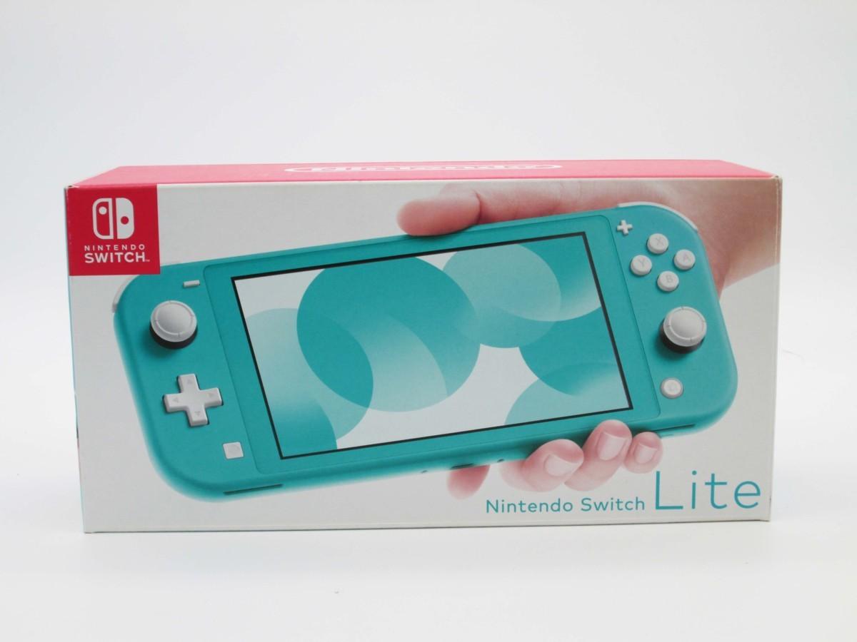 ★任天堂 ニンテンドースイッチ ライト ターコイズ 本体 Nintendo Switch lite★/H_画像1