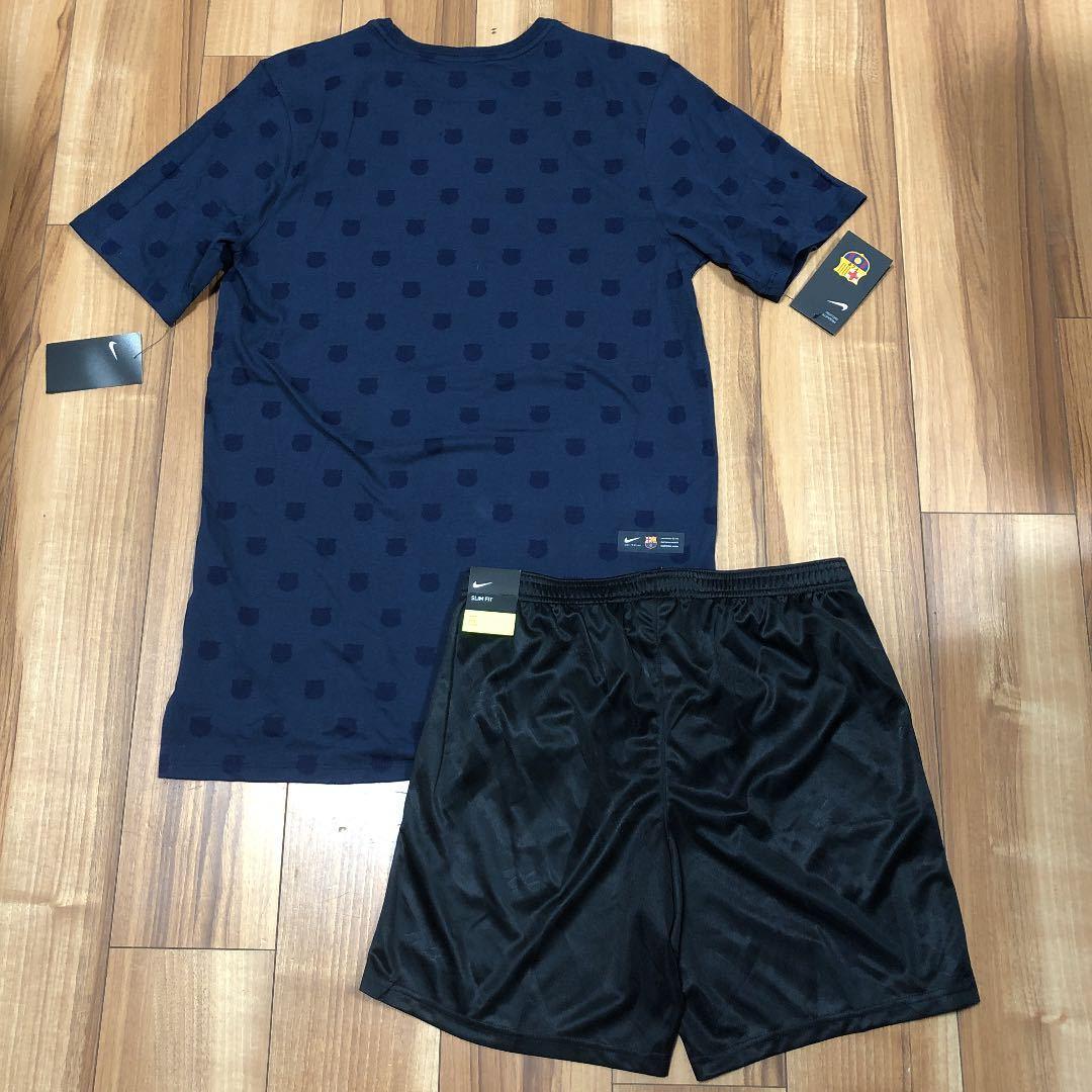 ナイキ NIKE FC メンズ M 半袖 Tシャツ ハーフパンツ セットアップ 短パン パンツ 上下 サッカー ランニング トレーニング
