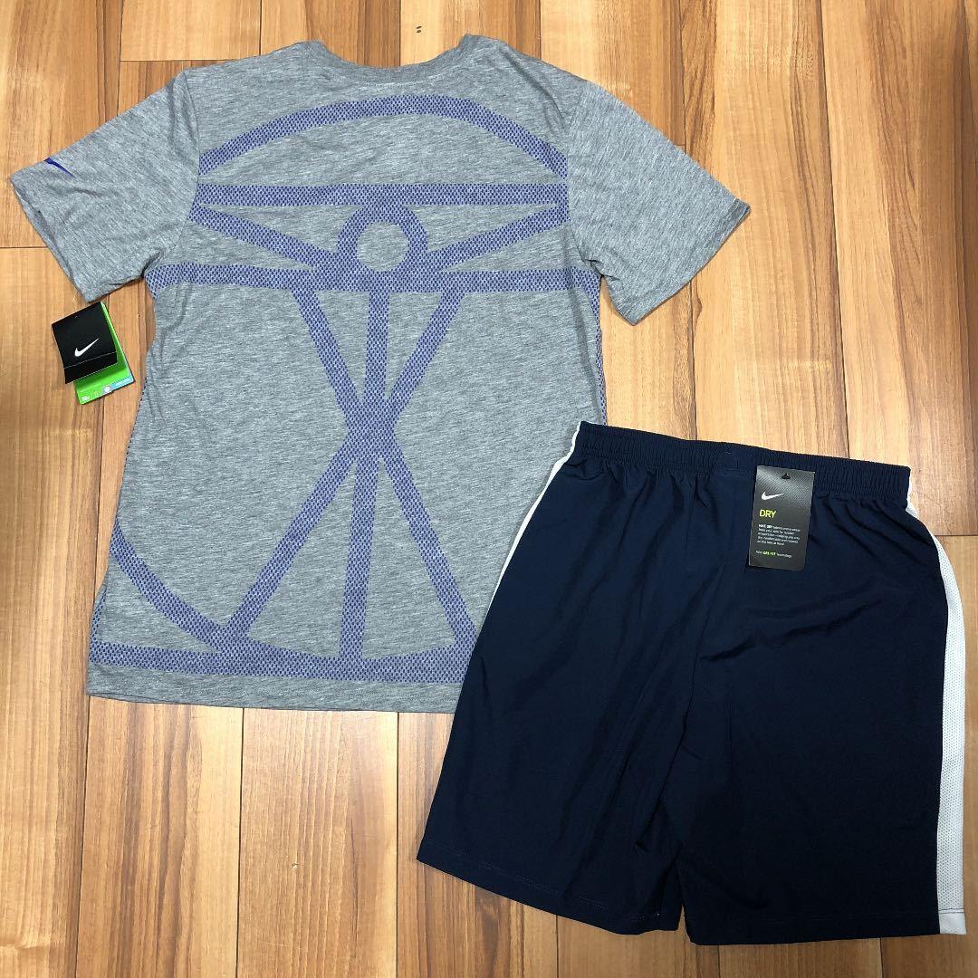 ナイキ NIKE メンズ M 半袖 Tシャツ ハーフパンツ セットアップ 短パン スウェット パンツ 上下 ランニング トレーニング バスケ