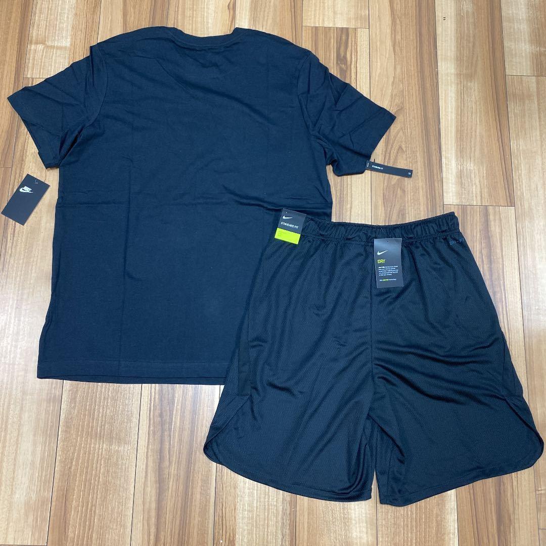 ナイキ メンズ L セットアップ 上下 ハーフパンツ 短パン ショートパンツ 半袖Tシャツ ランニング トレーニング 上下セット 新品