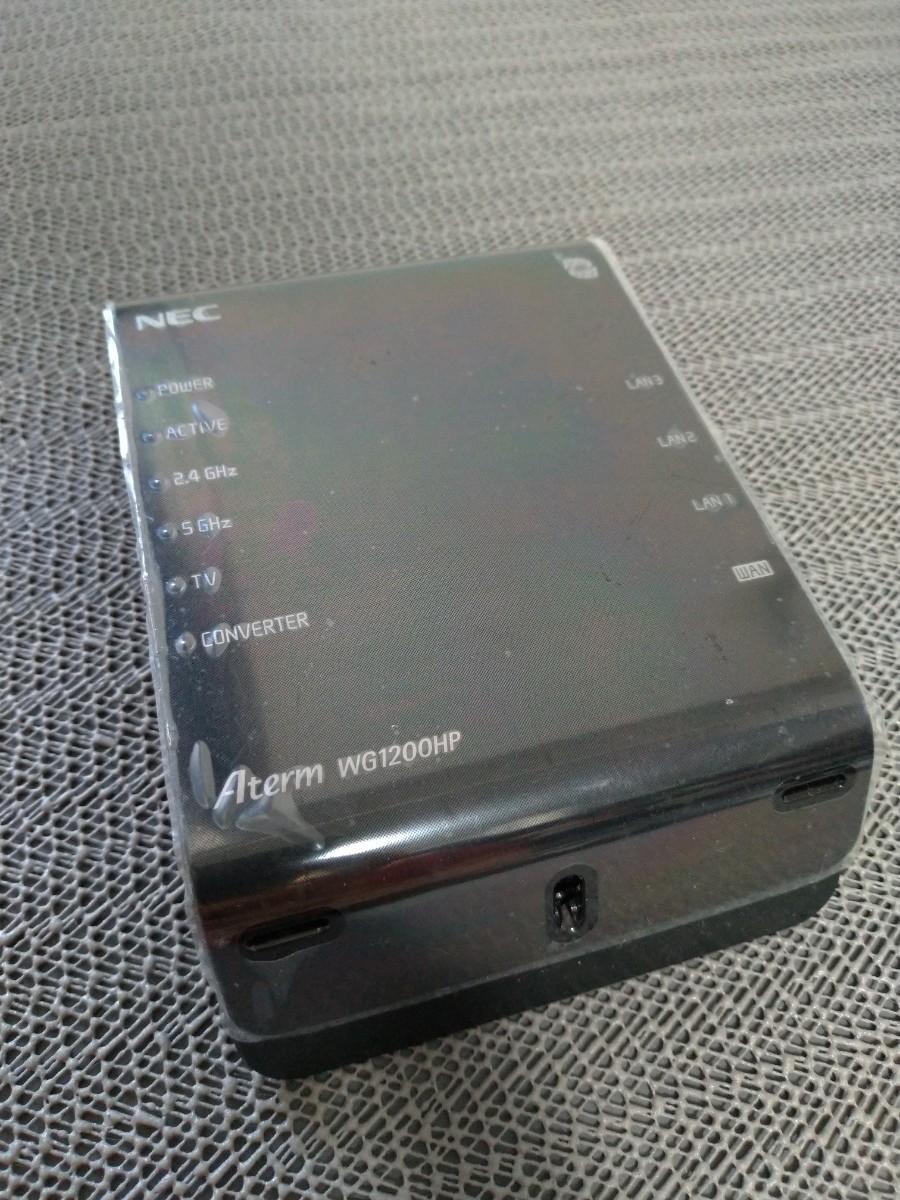 NEC Aterm PA-WG1200HP  無線LANルーター( Wi-Fiルーター)