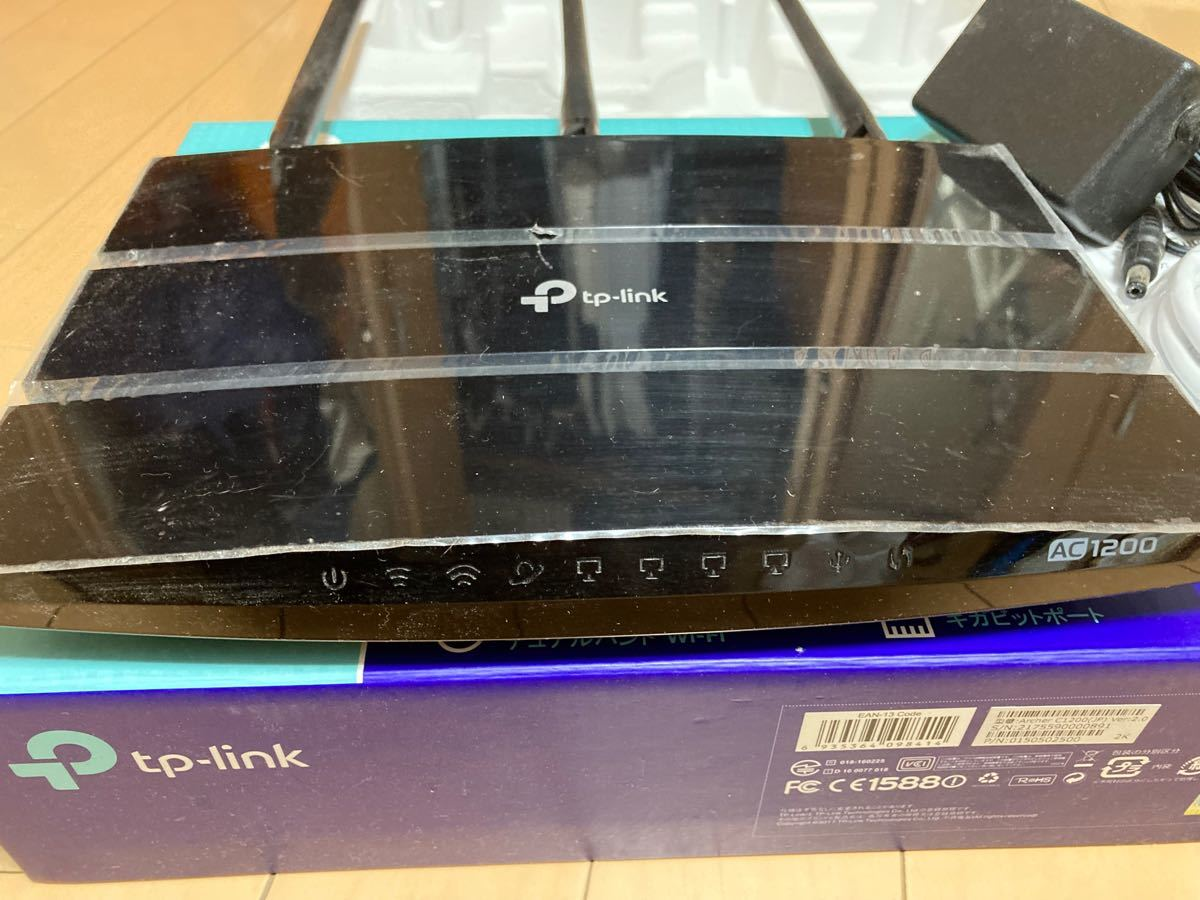 TP−LINK ARCHER C1200 Archer 無線LANルーター TP-Link Wi-Fi
