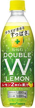 ポッカサッポロ キレートレモンダブルレモン 500ml ×24本_画像1