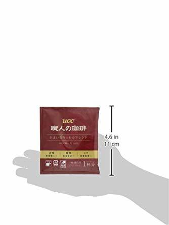 UCC 職人の珈琲 ドリップコーヒー あまい香りのモカブレンド 100杯 700g_画像8