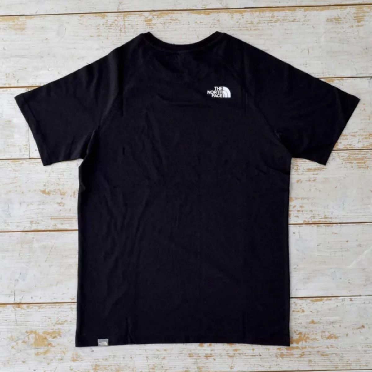 ノースフェイス THE NORTH FACE Tシャツ  ラグラン Tシャツ  ザノースフェイス 黒