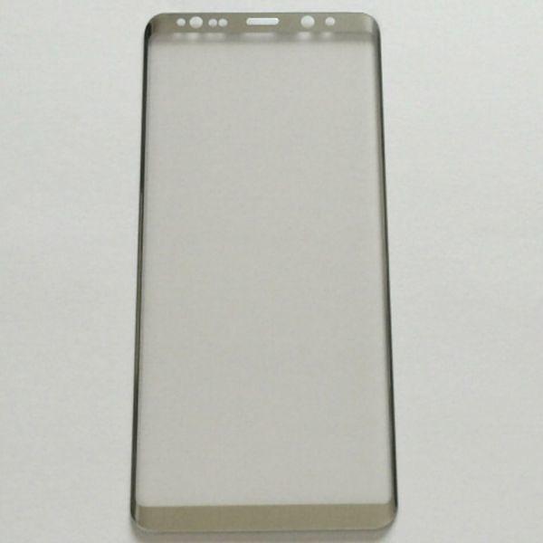 Galaxy Note8 SC-01K SCV37 6.3インチ 9H 0.26mm 枠白色 全面保護 3D曲面カバー 強化ガラス 液晶保護フィルム 2.5D K369_画像2