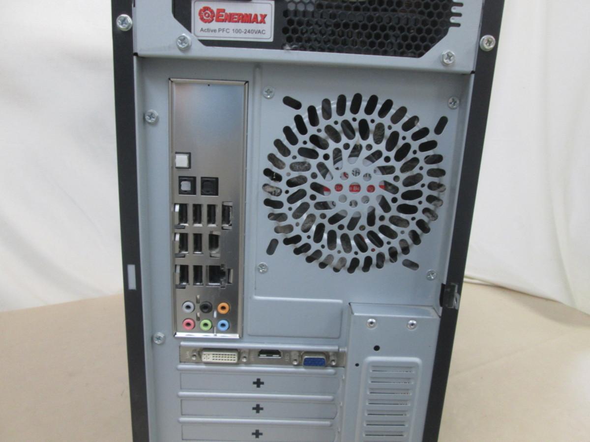 自作機 DP55WG Core i5 760 2.8GHz 8GB 1TB DVD作成 Win10 64bit Office HDMI [80052]_画像3