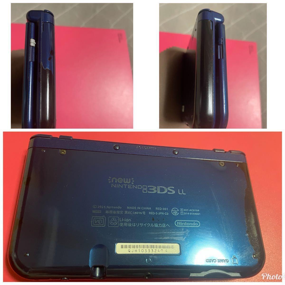Newニンテンドー3DS LL メタリックブルー ソフト6