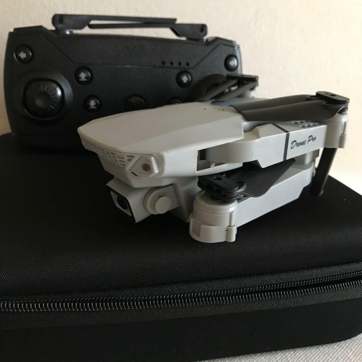 ドローンE88 Drone Proカメラ4KHD                   高画質.収納バッグ付き