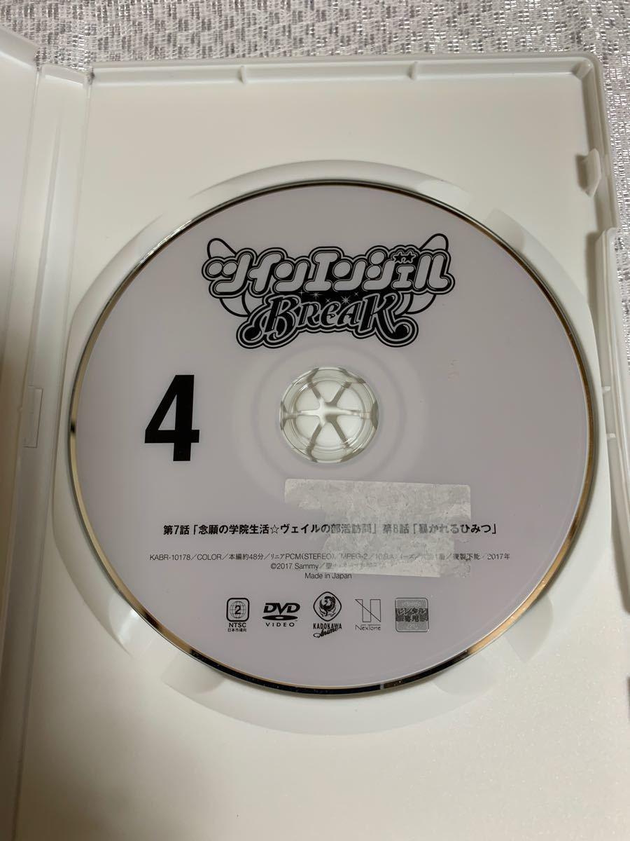 レンタル落ち DVD ツインエンジェル BREAK  1〜6巻  全巻セット