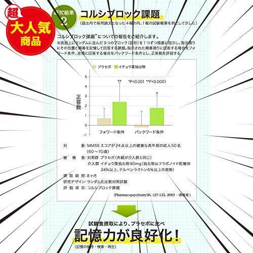 30食 (x 1) DHC イチョウ葉 脳内α(アルファ)30日分 【機能性表示食品】_画像5