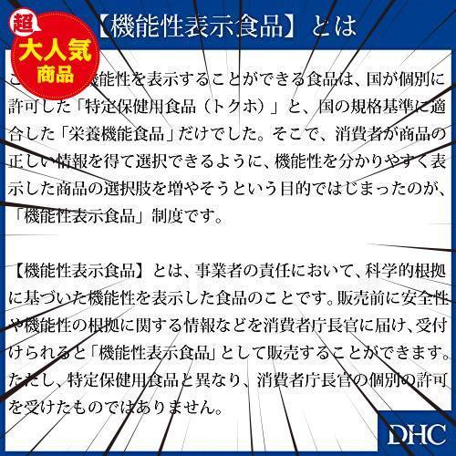 30食 (x 1) DHC イチョウ葉 脳内α(アルファ)30日分 【機能性表示食品】_画像7