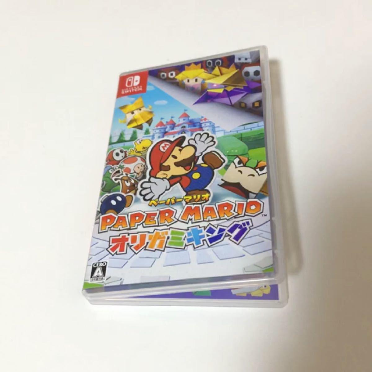 Nintendo Switch スイッチソフト オリガミキング ペーパーマリオ マリオ オリガミ おりがみ ニンテンドー 任天堂