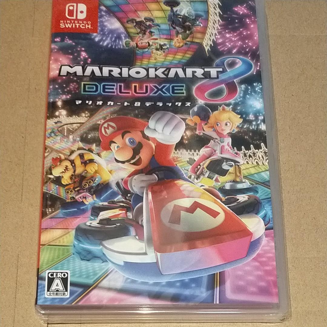 新品未開封◆マリオメーカー2&マリオカート8 デラックス Nintendo Switch ニンテンドースイッチ