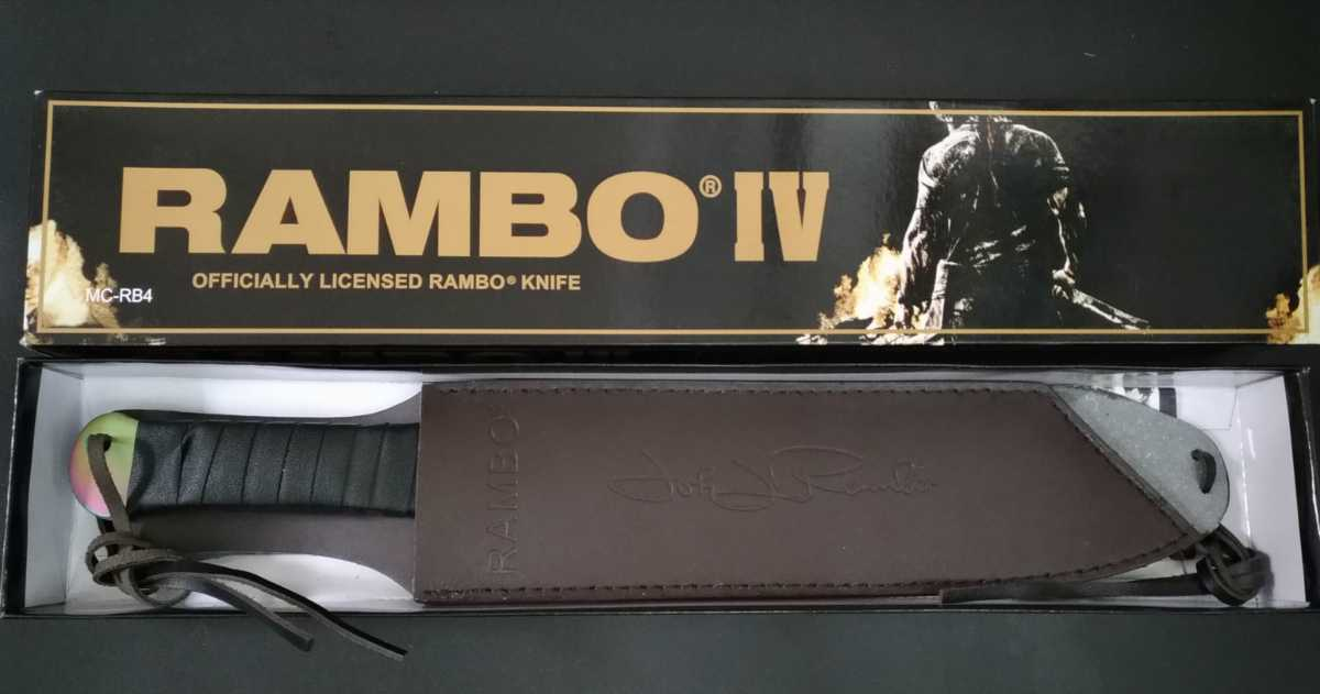 セット ランボー4 RAMBOⅣ 大型サバイバルナイフ フルタング 包丁 テント 焚き火 ハンティング フィッシング マチェット 鉈