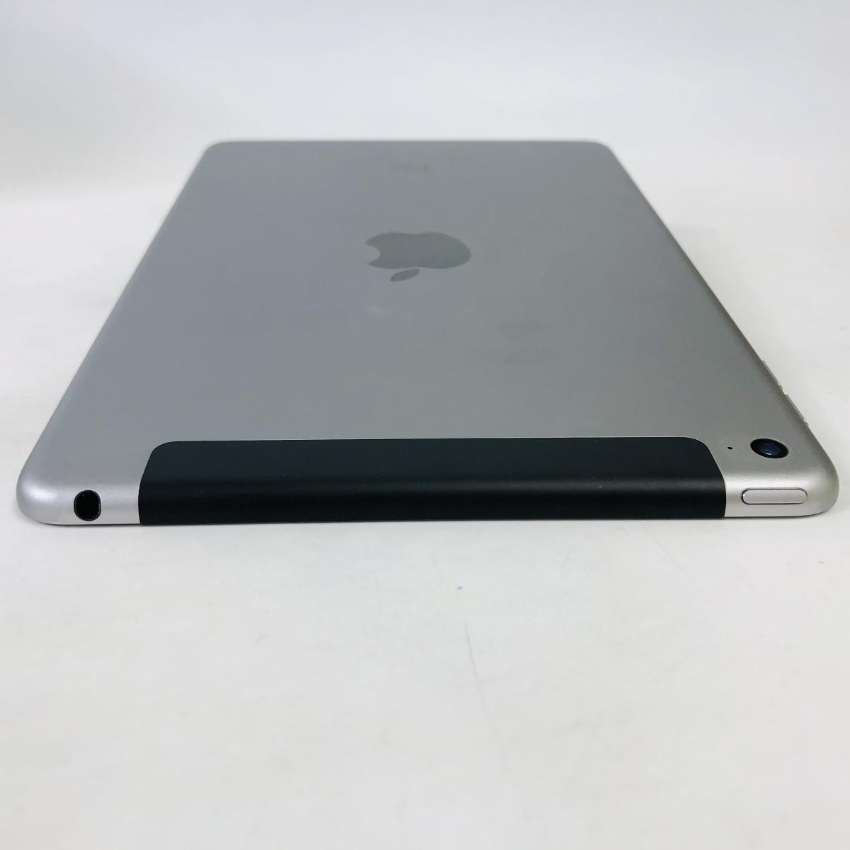 SoftBank iPad mini 4 Wi-Fi+Cellular 128GB スペースグレイ MK762J/A_画像3