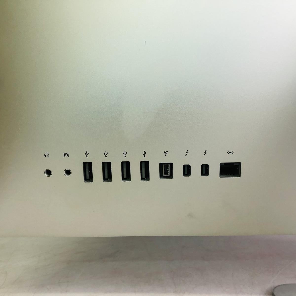 動作確認済み iMac 27インチ(Mid 2011) Core i5 2.7GHz/4GB/1TB MC813J/A_画像6