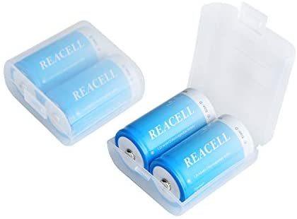 REACELL 単一充電池 充電式ニッケル水素電池 10000mAh高容量 電池 単1 4本セット 単1充電池 液漏れ防止 約1200回使用可能_画像7