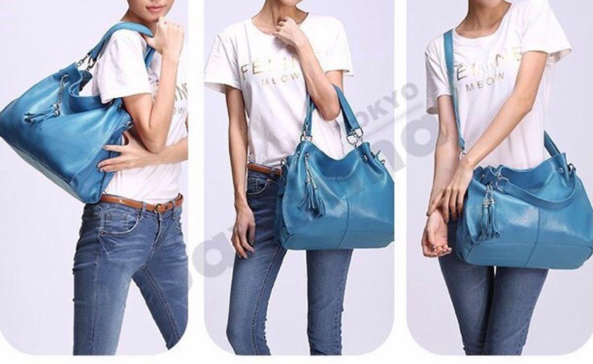 ショルダーバッグ 本革 レディース バッグトートバッグ ハンドバッグ カバン カーフ鞄 2WAY   ◆値下げ◆