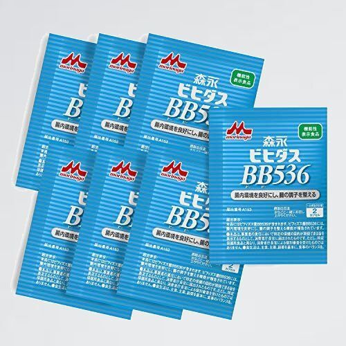 未使用 新品 メ-カ-シェアNo.1 ビフィズス菌・乳酸菌 1-8R 機能性表示食品 森永乳業 森永ビヒダス BB536 7日分(14粒入り)_画像1