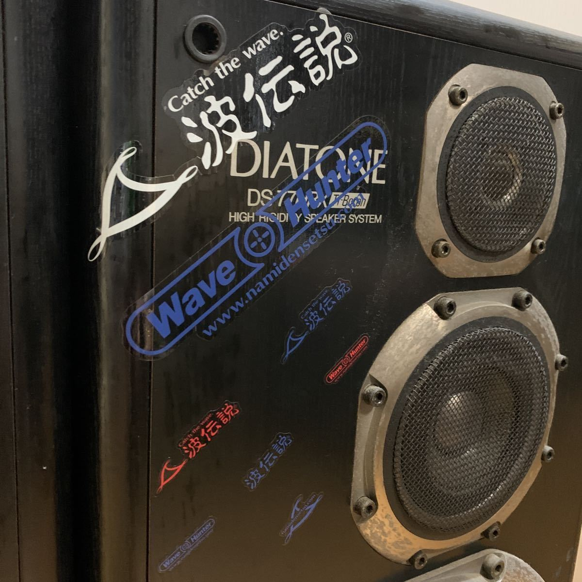 1円スタート DIATONE ダイヤトーン DS-77HRX BK スピーカー ペア 中古 大きめ 重い 中古 引取歓迎! ネット欠品_画像4