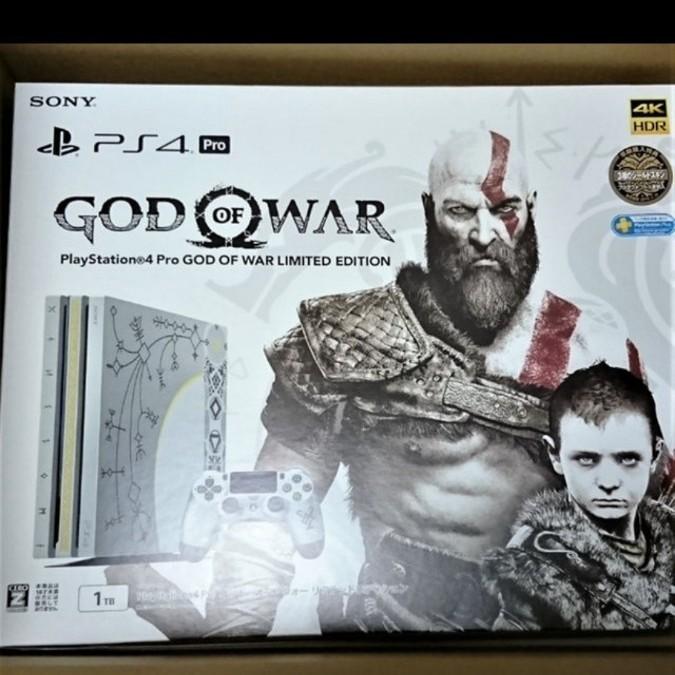 PS4 Pro ゴッド・オブ・ウォー リミテッドエディション 新品未開封