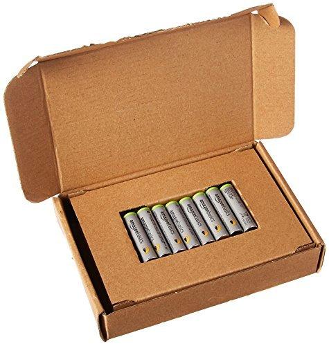 Amazonベーシック 充電池 高容量充電式ニッケル水素電池単4形8個セット (充電済み、最小容量 800mAh、約500回使用_画像4