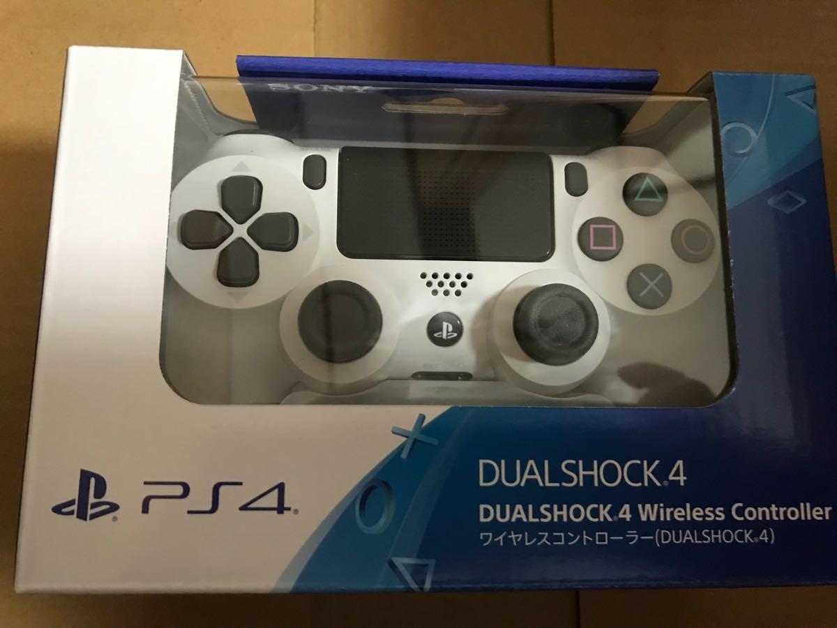 SONY PS4 純正 ワイヤレスコントローラー DUALSHOCK4 グレイシャーホワイト White CUH-ZCT2J 13