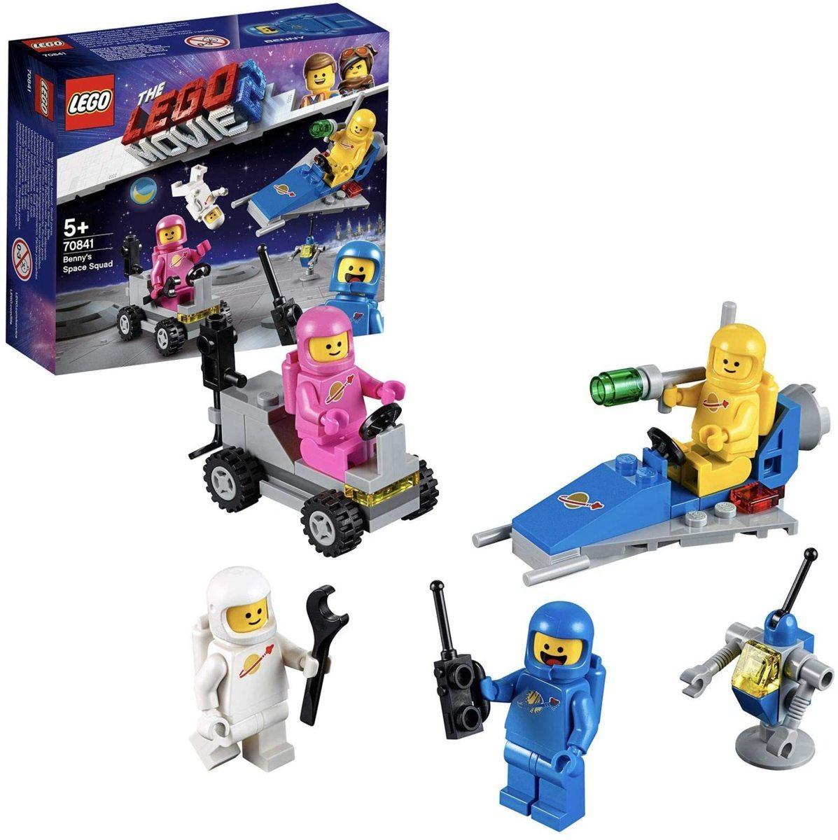 レゴ(LEGO) レゴムービー ベニーの宇宙スクワッド 70841 知育玩具 ブロック おもちゃ 女の子 男の子_画像1