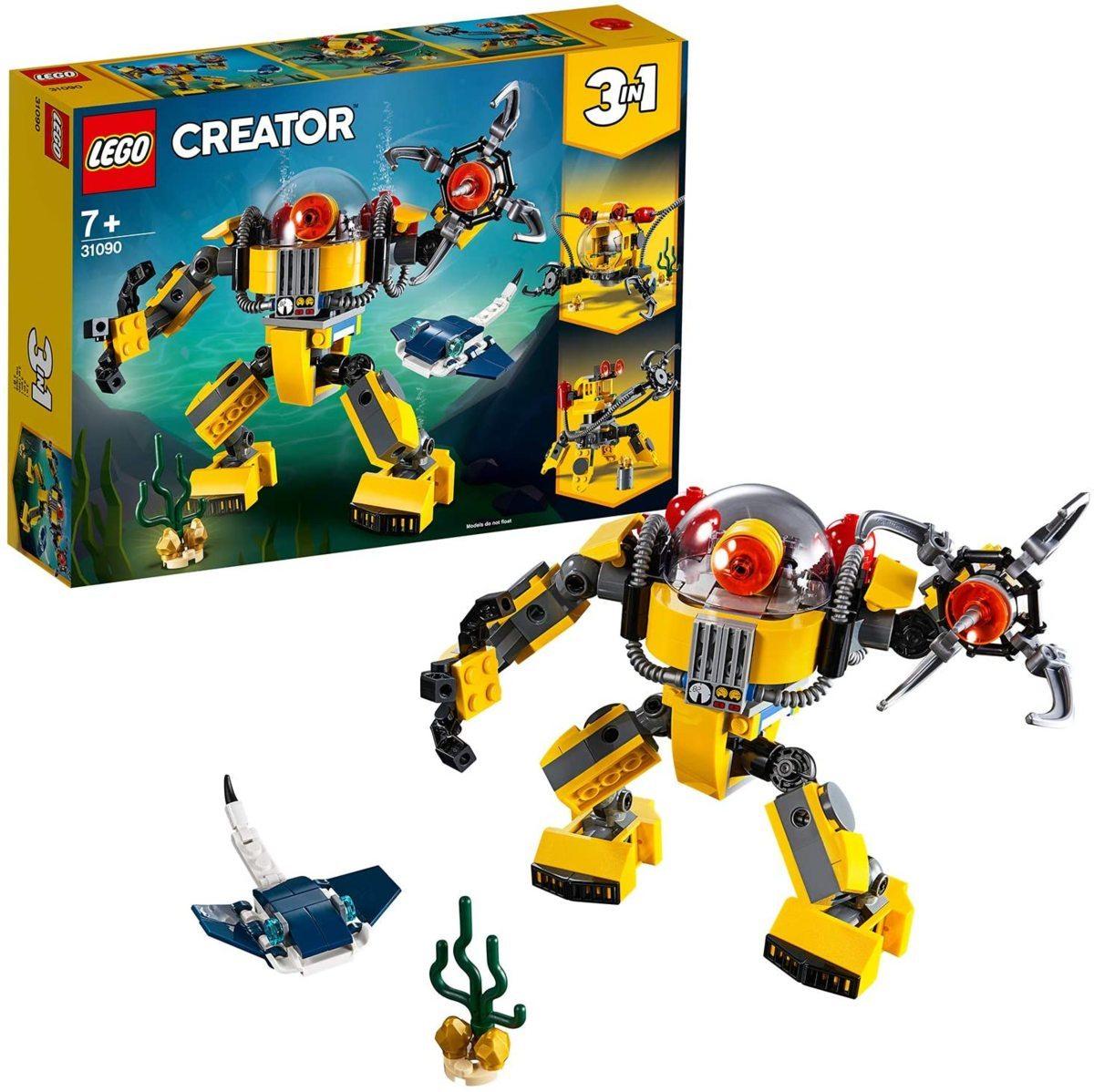 レゴ(LEGO) クリエイター 海底調査ロボット 31090 知育玩具 ブロック おもちゃ 女の子 男の子_画像1