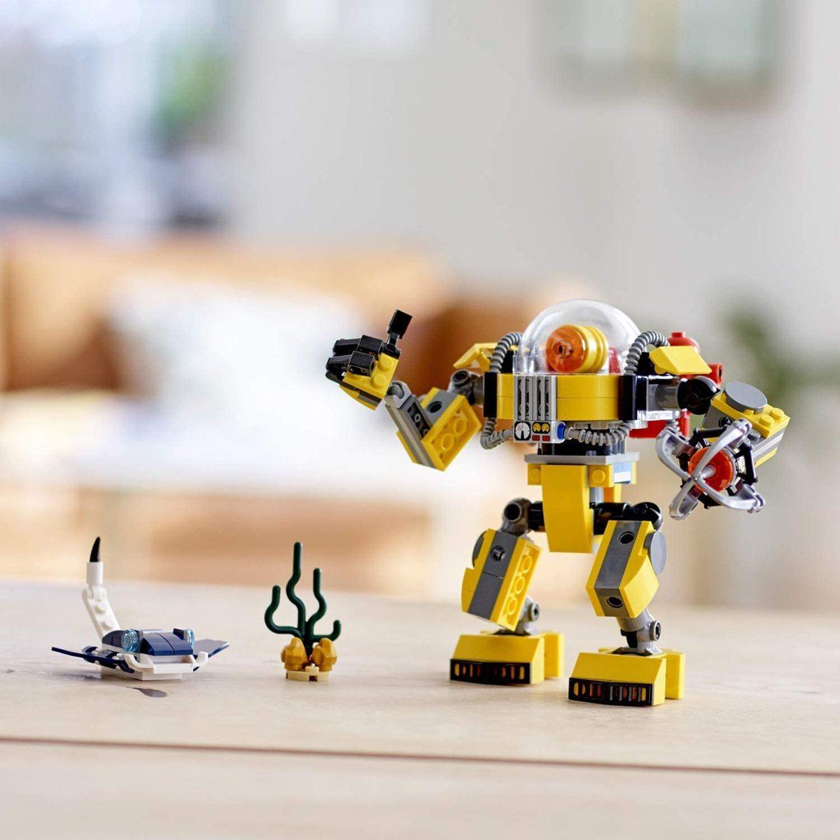 レゴ(LEGO) クリエイター 海底調査ロボット 31090 知育玩具 ブロック おもちゃ 女の子 男の子_画像5