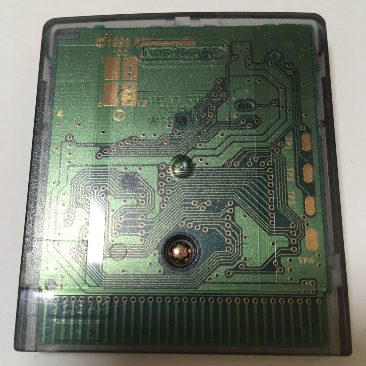 ゲームボーイカラー ソフト ソロモン 動作確認済み レトロ カセット 任天堂