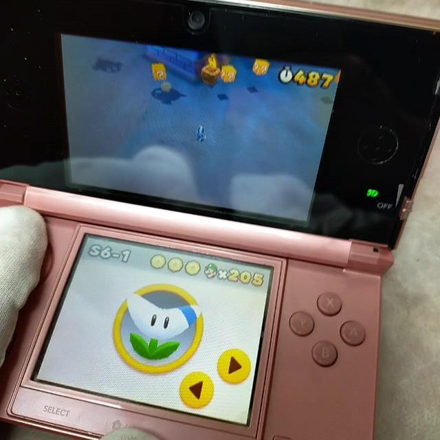 ニンテンドー3DS ミスティピンク 箱付き 3DS本体