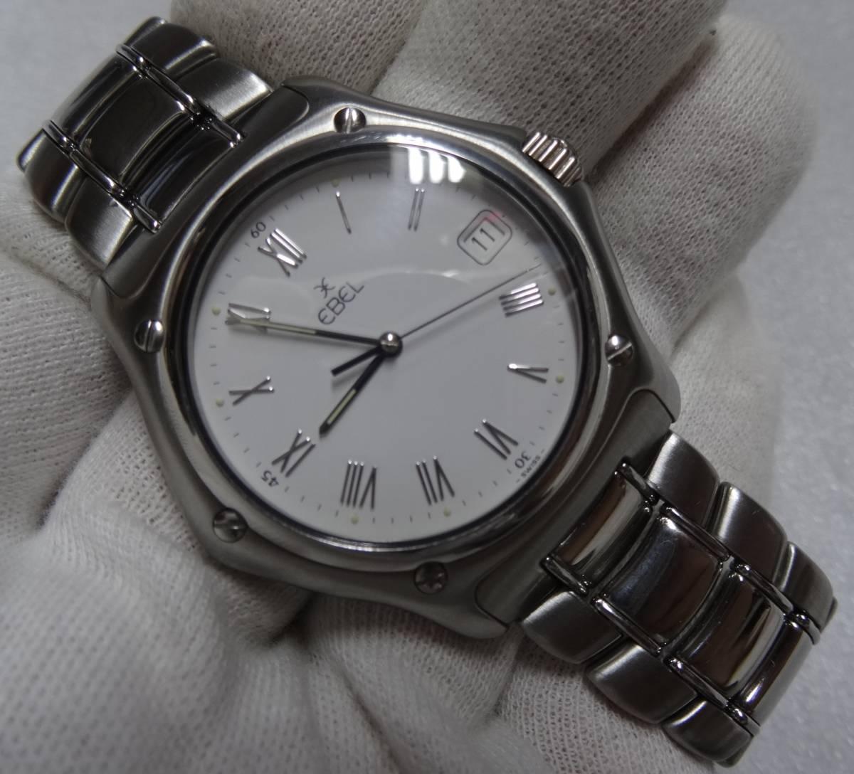 EBEL メンズ時計 1911 電池交換済 エベル