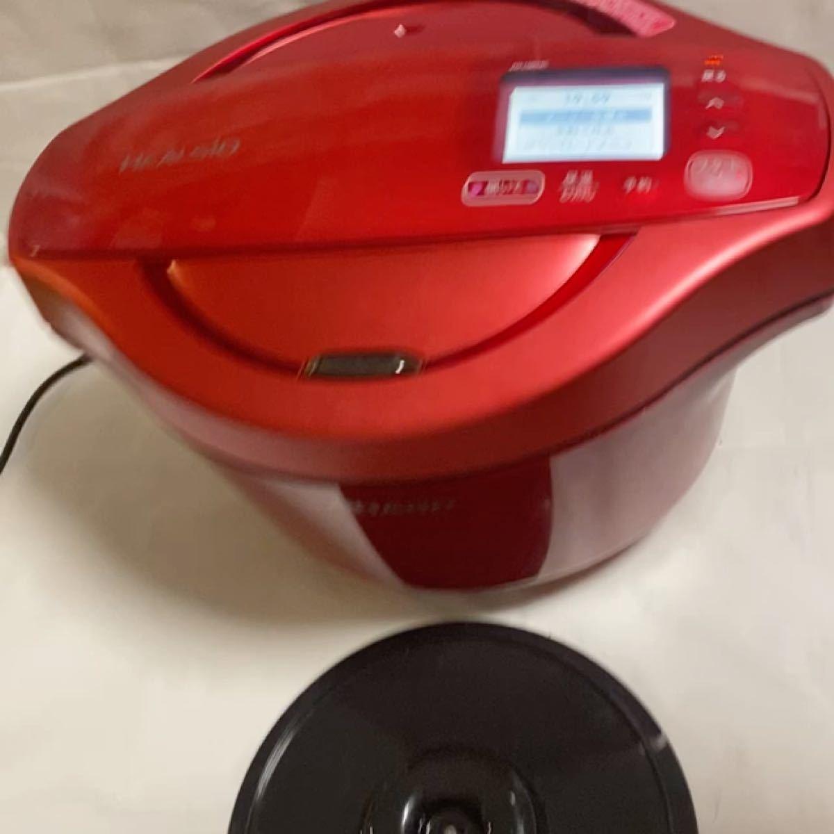 シャープ KN-HW24C-R 電気無水鍋 「ヘルシオホットクック」 2.4L レッド系
